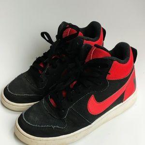 Nike Kids Court Borough Mid Retro style Sneakers